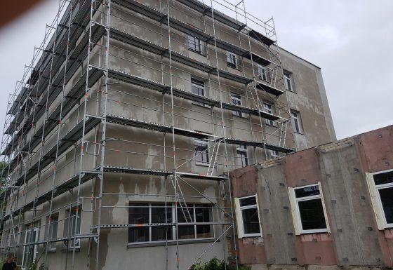 Diaugiaaukštis pastatas, Vilnius